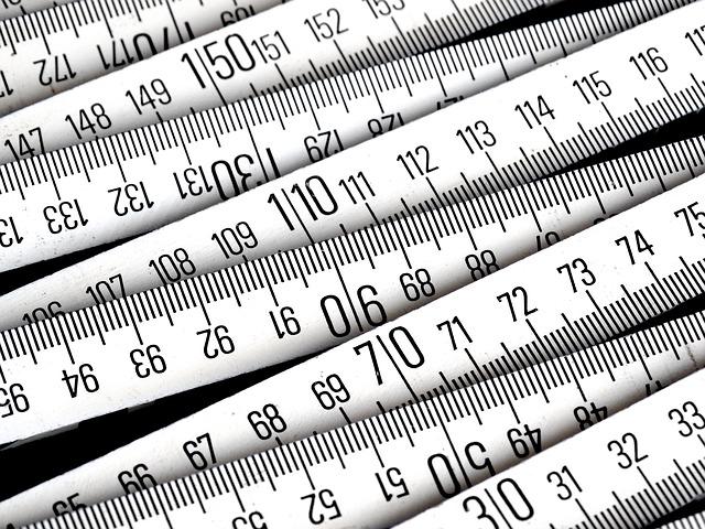 賢い駐妻は知っている、海外と日本のサイズ・度量衡の換算表一覧
